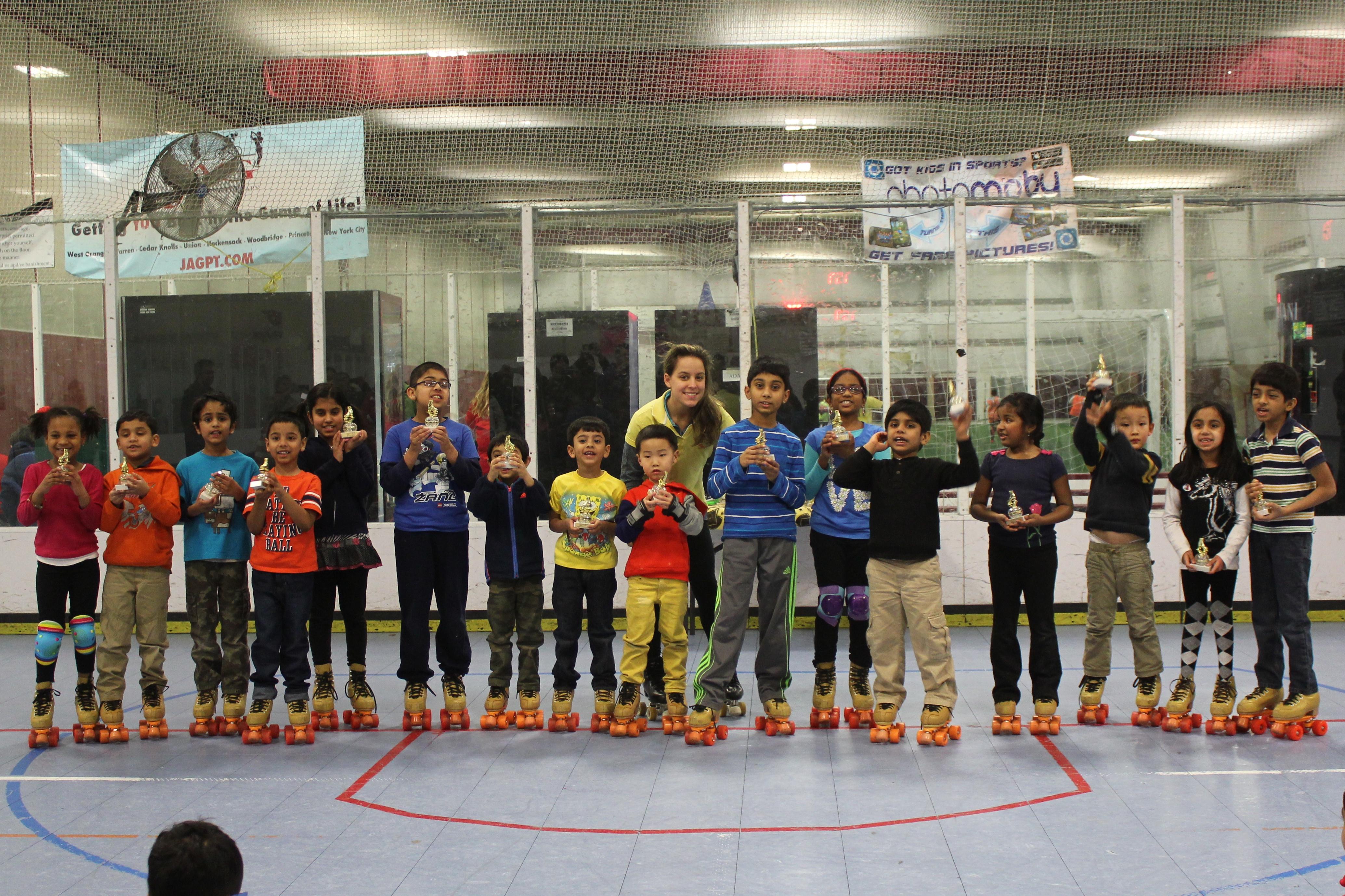 Roller skating rink woodbridge nj - February 2015 Group Class Graduation