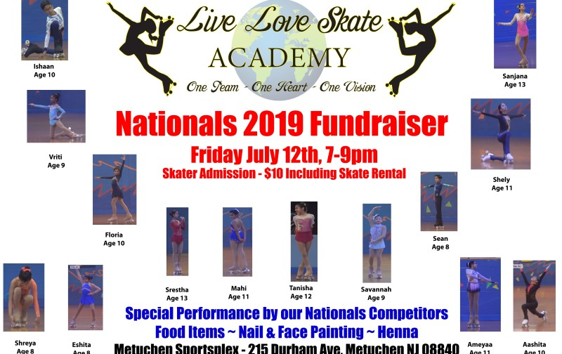 Nationals 2019 Fundraiser